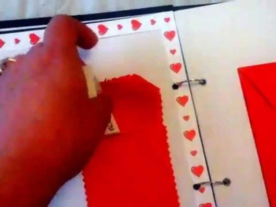 Scrapbook para o meu  namorado :)