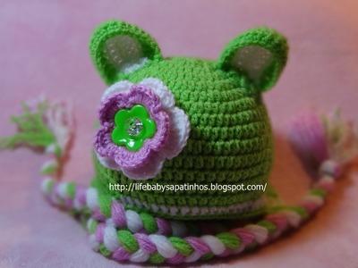 Toucas em Crochê Life Baby Sapatinhos - Professora Simone