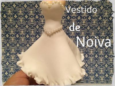 Vestido de Noiva em Biscuit