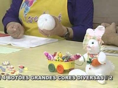 ARTE BRASIL -- LILIANA QUINTERO -- COELHINHO CARROCEIRO DE FUXICO (10.02.2011 - Parte 1 de 2)