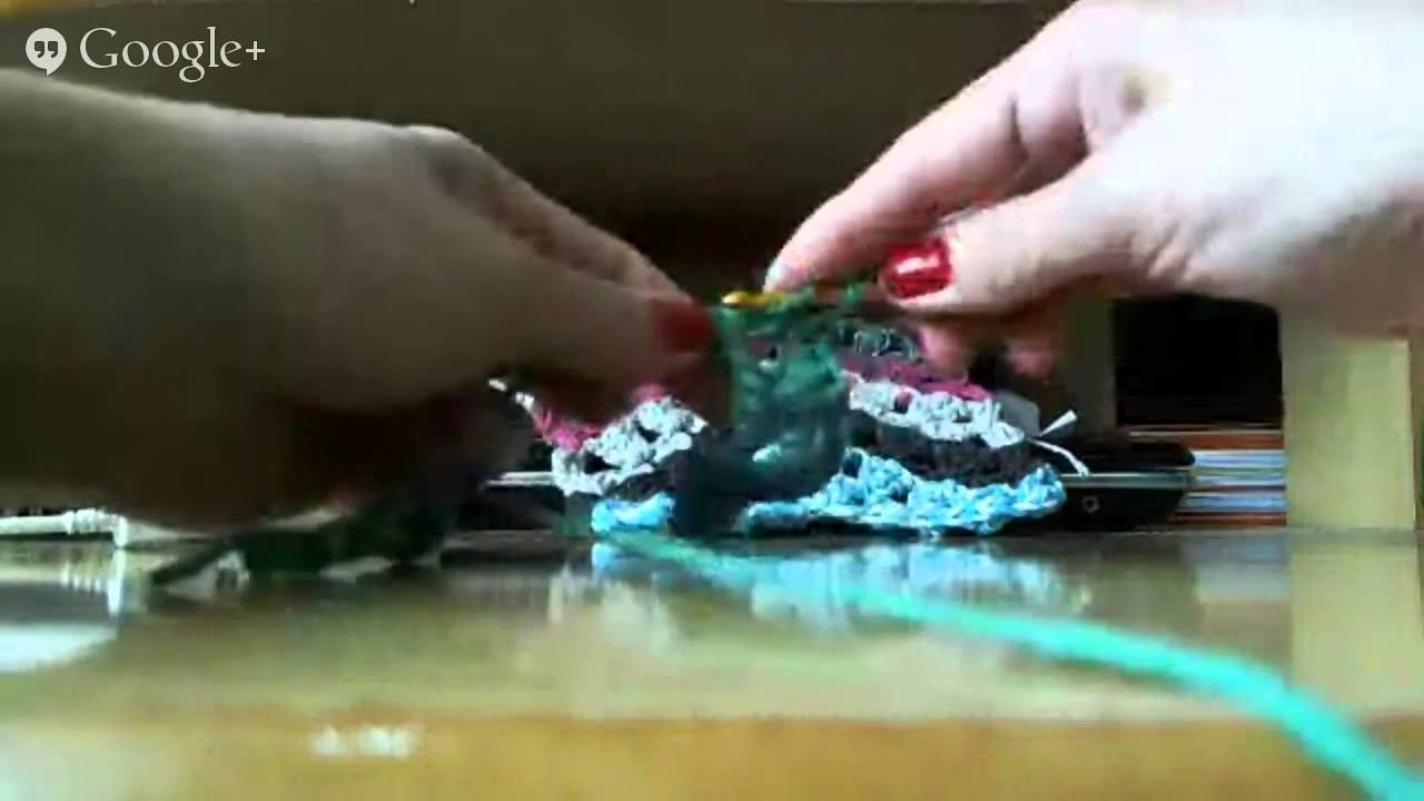 Crochê - Granny Ripple (Onda da Vovó)