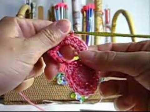 Crochê - Laço Natalino - Parte I