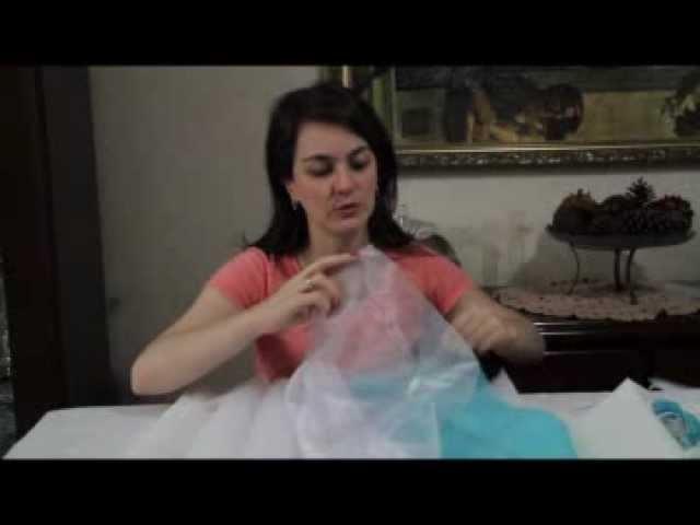DIY - Bouquet de broches e tecidos - 2ª parte