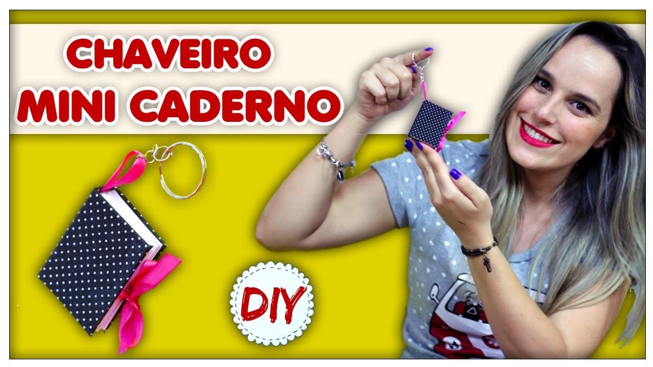 DIY: Chaveiro Mini Caderno