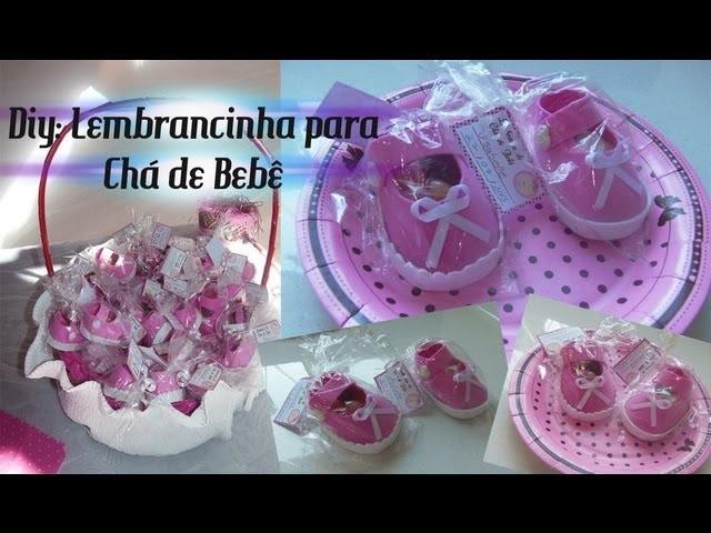 ✂ DIY: Lembrancinha para Chá de Bebê | By Luana Carolina