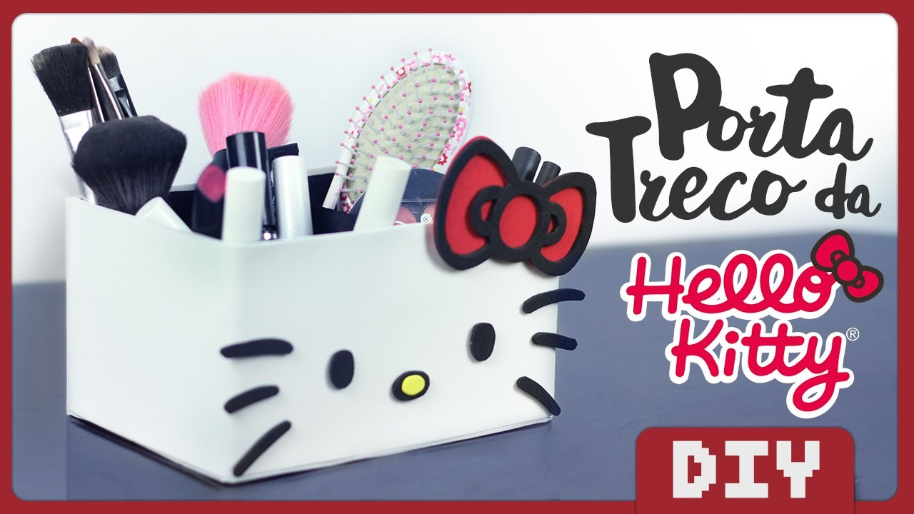 Porta Treco Hello Kitty | DiY Geek