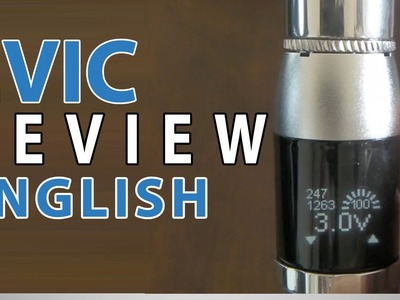 Review Joyetech eVic - v1.1 (Português) - English subtitles
