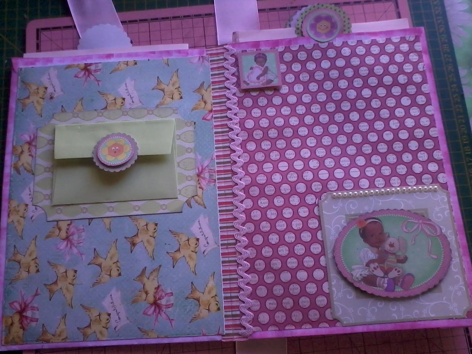 SCRAPBOOKING: Álbum de envelopes tutorial parte 2