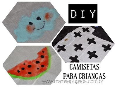 Tutorial presente de dia das crianças - Urban Style DIY Kids Clothes NUNUNU