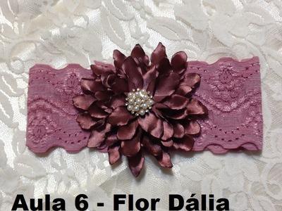 Apresentação do DVD 6 - Novo Curso de flores e laços para tiaras