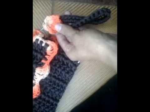 Bolsa carteira de croche