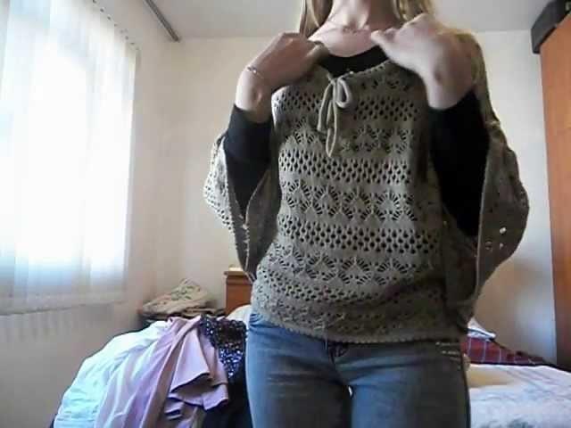 Capa de tricô.crochê - Sammydress