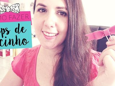 Como Fazer Clips de Lacinho - Marcador de Páginas Fofo ♡ DIY
