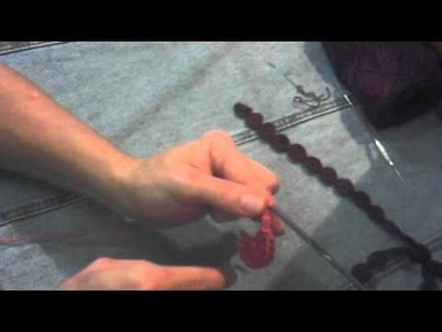 Como fazer os Poás em crochê
