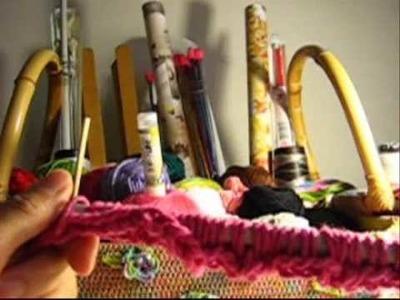 Crochê Tunisiano - Capa Decor. para Travesseiro - Parte 01.05