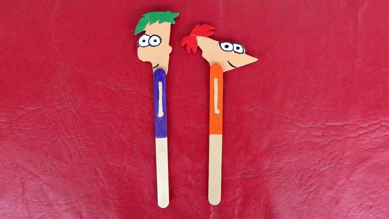 DIY - Marcador de livro Phineas e Ferb | Especial Dia das Crianças