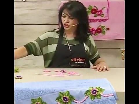 Flores em crochê com Maria José | Vitrine do artesanato na TV