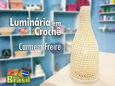 Programa Arte Brasil - 26.01.2015 - Carmem Freire - Luminária em Crochê