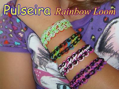 Tutorial: Pulseira Infinito Rainbow Loom- com Glória Milena