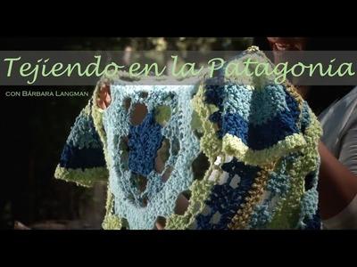 Abrigo circular en crochet. Bárbara Langman