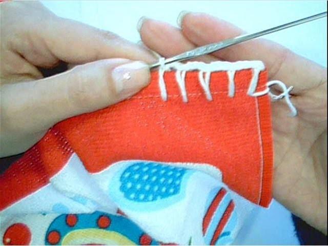 Aprendendo Caseado Simples no Crochê
