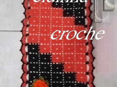 Croche- Tapete Chiquetoso2- Passo A Passo- Parte 1