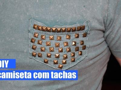 DIY - Camiseta com Tachas