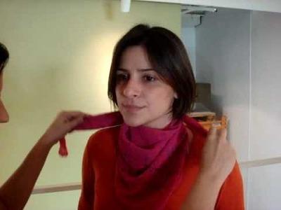 Oficina de estilo: jeitos de amarrar lenço