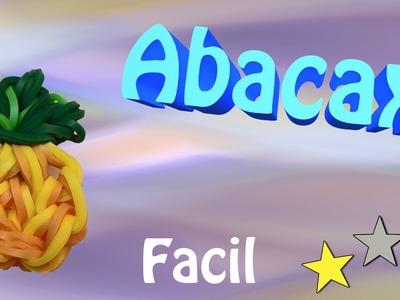 Rainbow Loom - Abacaxi ( Sem Tear ) de Elasticos para pulseiras de elasticos