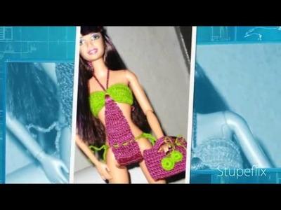 Roupas de Barbie em Croche