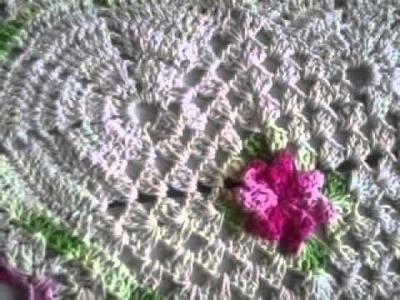 Tapetes croche com barroco