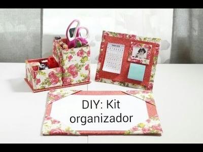 DIY - Kit Organizador de Escritório