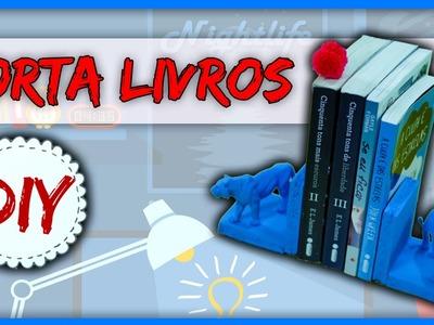 DIYminuto: Porta Livros - Brinquedo na Decoração
