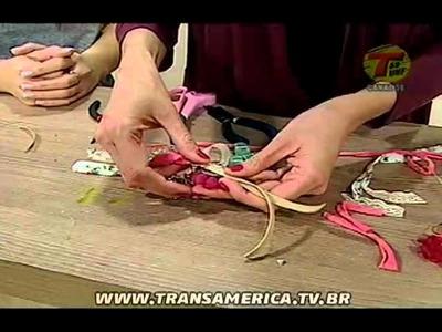 Tv Transamérica - Chaveiro de flor