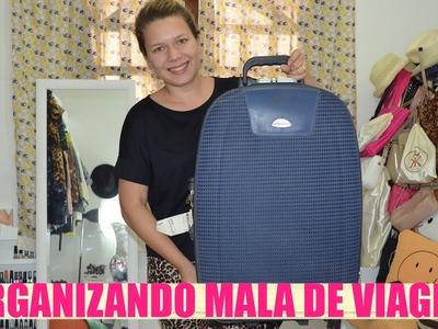 Dicas para Organizar Mala de Viagem | URSULA PINK WOMAN