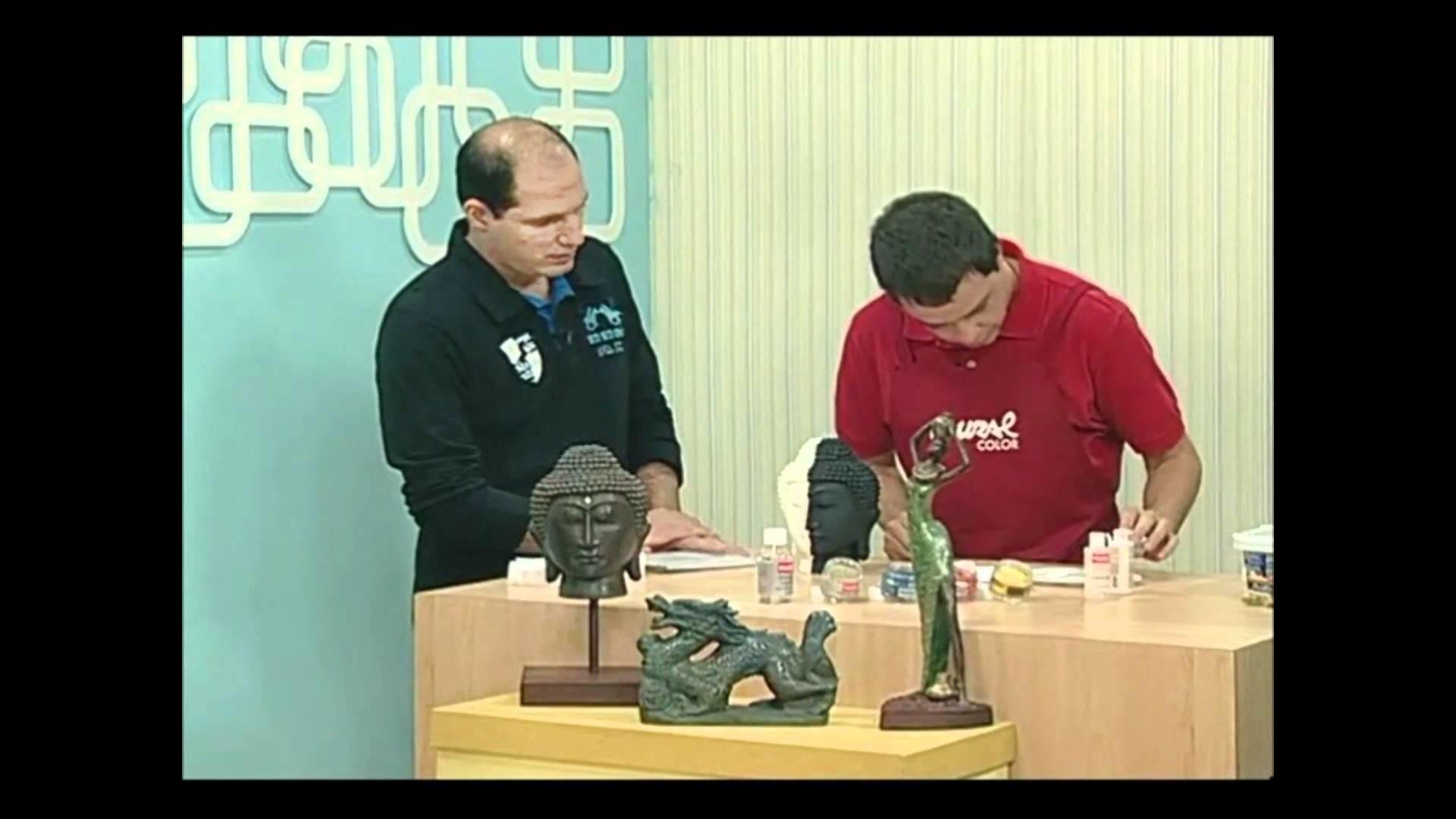 EFEITO FERRO FUNDIDO - ATELIÊ NA TV - 21.06.2010