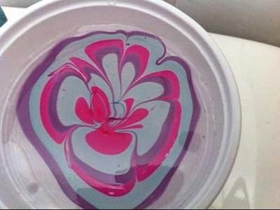 D.I.Y Reciclando vidros com esmalte. Customizando vidro com esmaltes