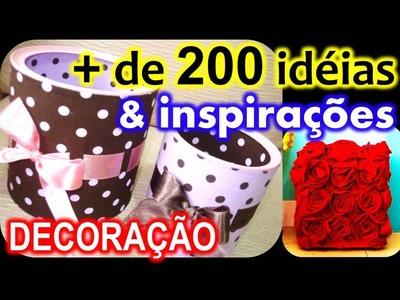 DECORAÇÃO: Mais de 200 idéias & inspirações (DIY)