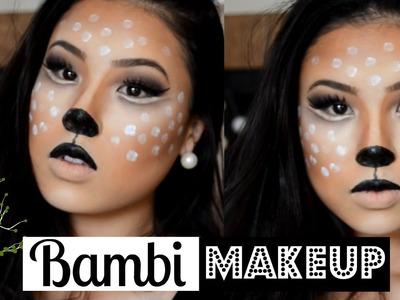[DIY] Bambi.Veado | Maquiagem de Halloween (Deer.Bambi Makeup)