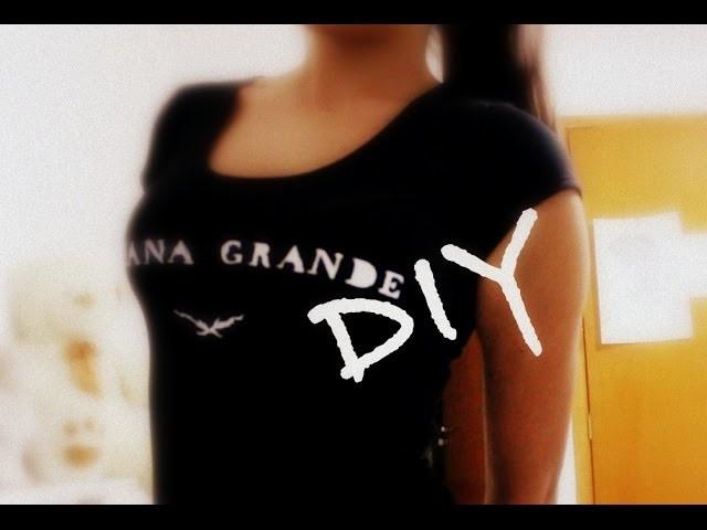 DIY: Blusa Ariana Grande