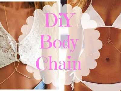DIY - Body chain!