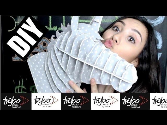 DIY: Cabeça de Unicórnio   Trybo Design