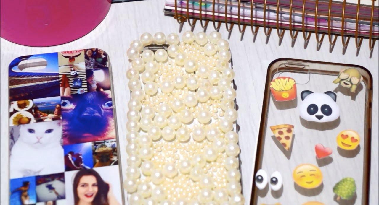 DIY: Capinhas de Celular Personalizadas