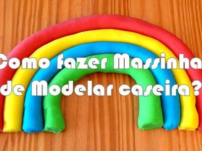 DIY: COMO FAZER MASSINHA DE MODELAR - ATIVIDADE SENSORIAL PARA CRIANÇAS