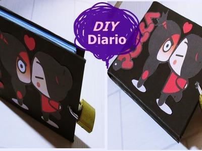 DIY: ♥Como Fazer Um Diário♥ | Débora Silva