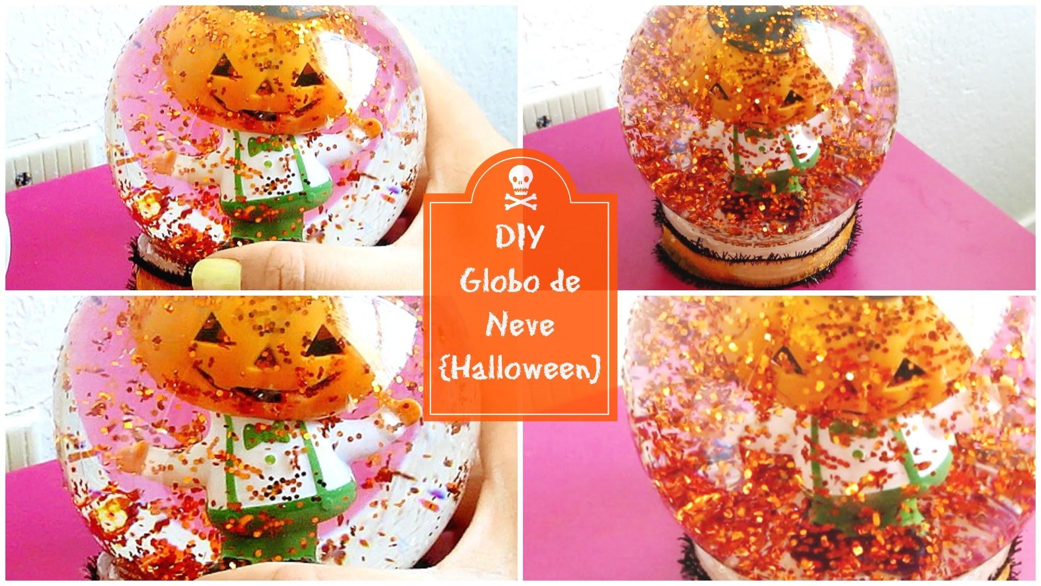 DIY - Globo de Neve {Halloween} ♥