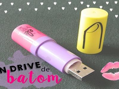 DIY PEN DRIVE de BATOM ♥