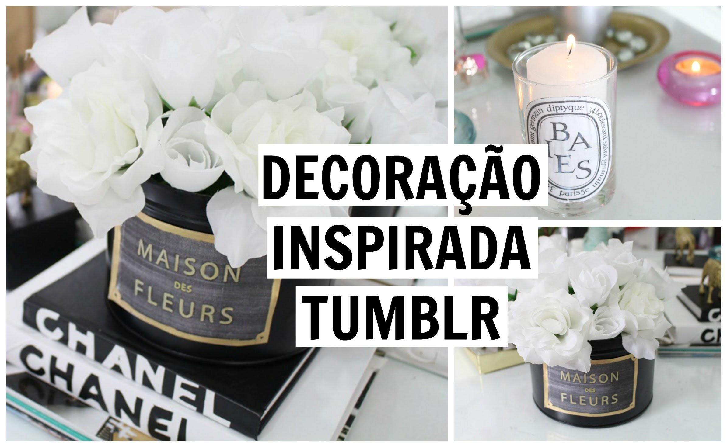 DIY Room Decor! Tumblr Inspired | Decoração Inspirado no Tumblr