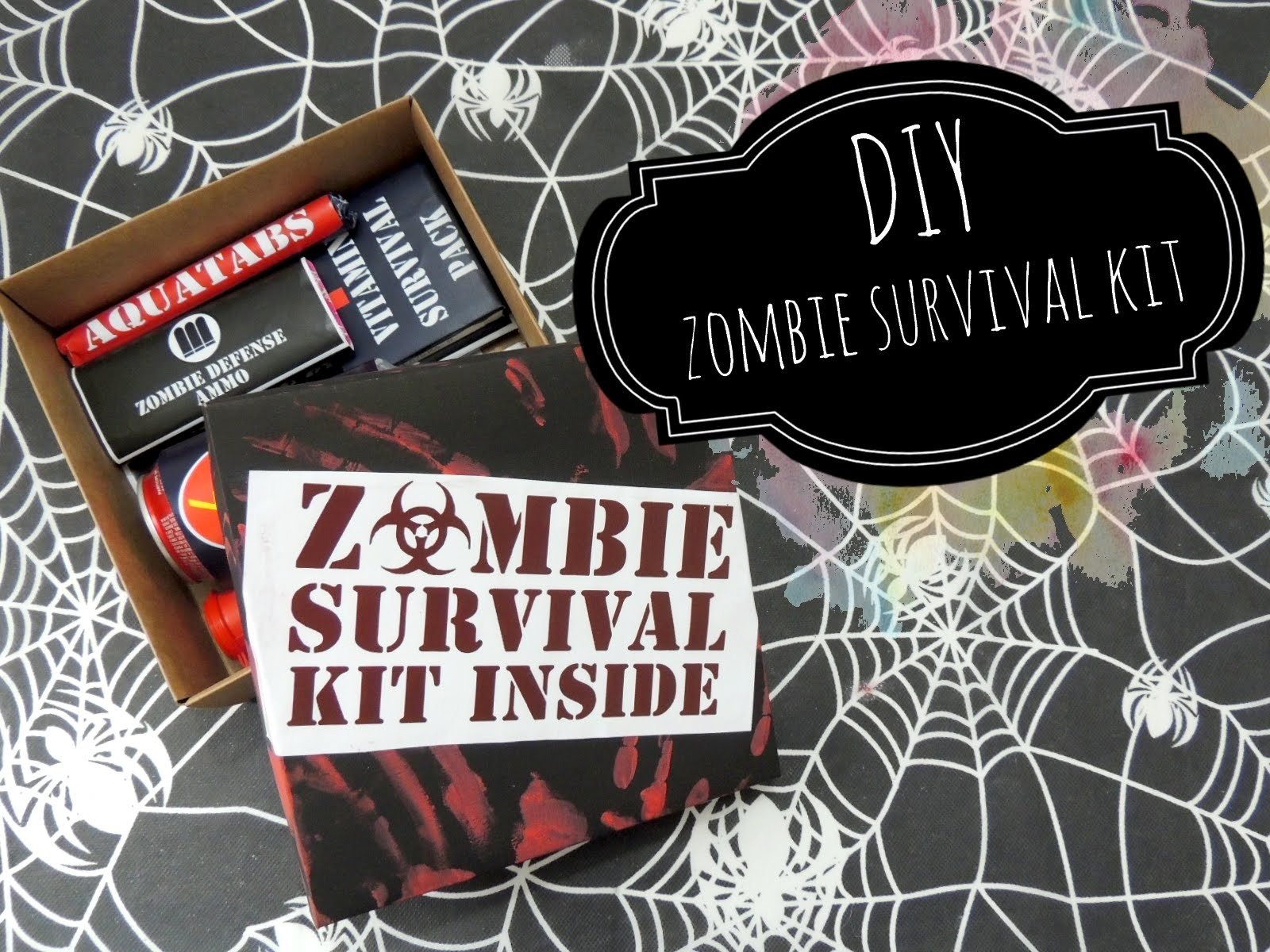 Especial Halloween | DIY Zombie Survival Kit