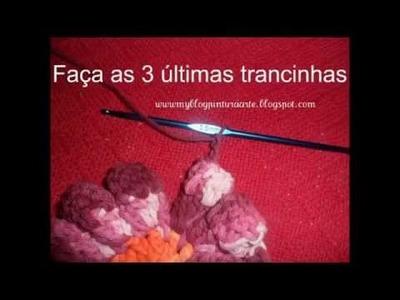 Margarida em croche - Daisy flower crochet